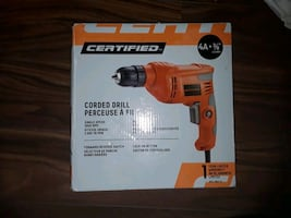Certified Power Drill