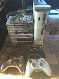 Xbox 360 120 GB HD, 3 controllers and 14 games Laval, H7S 1L4