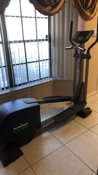 black and gray elliptical trainer Coral Springs, 33065
