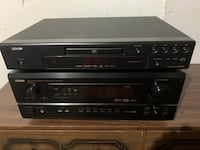 DENON RECEIVER & PLAYER Edmonton