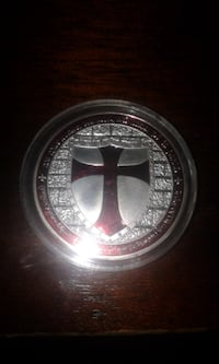 Knights Templar Collector Coin