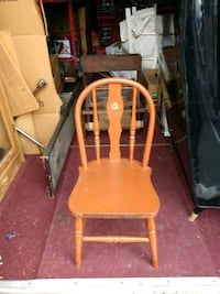 Antique child's handmade chair Baltimore