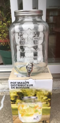 Mason Jar Drink Dispenser Montréal, H1G 3Z6