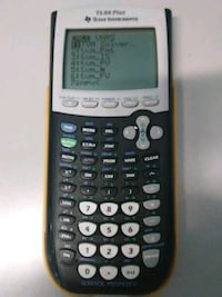 Texas Instruments TI-84 Plus Yellow School Bus Edi Washington