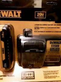 DeWALT lithium ion compact battery and charger Fayetteville, 28304