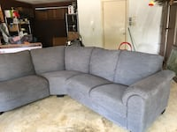 """Couch for sale . Ikea 3 years old in good shape originally $1300. 7 1/2 """" x 5' Virginia Beach, 23454"""