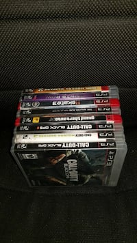 Assorted Sony PS3 games  Toronto, M3M