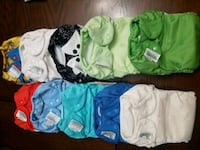 Cloth diapers, Bumgenius, best bottom, elf, swim  Uniontown, 44685