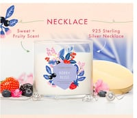 Charmed Aroma Berry Bliss Necklace Candle Langley, V2Y 0E8