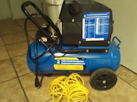 blue and black air compressor Calgary