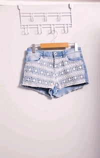 Brand New Free People Jean Short Lace Detail North York, M3K 2C1