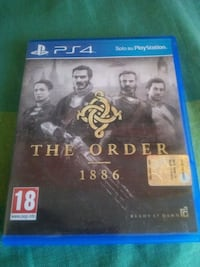 Sony PS4 The Order 1886 game case Roma, 00171