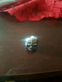 black and gold stainless steel ring Calgary, T2B 2L3
