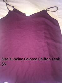 Women's Tank size xL Germantown