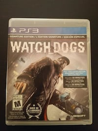 PS3 Watch Dogs game Vaughan, L4L