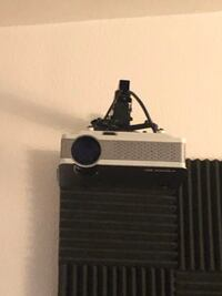 Projector & screen 200 for both or 150 for just the projector obo