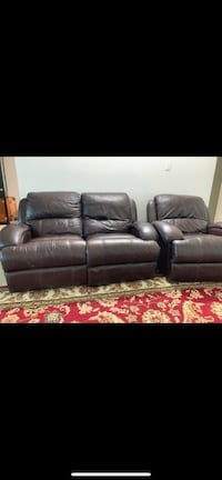 Leather sofa set Reston, 20190
