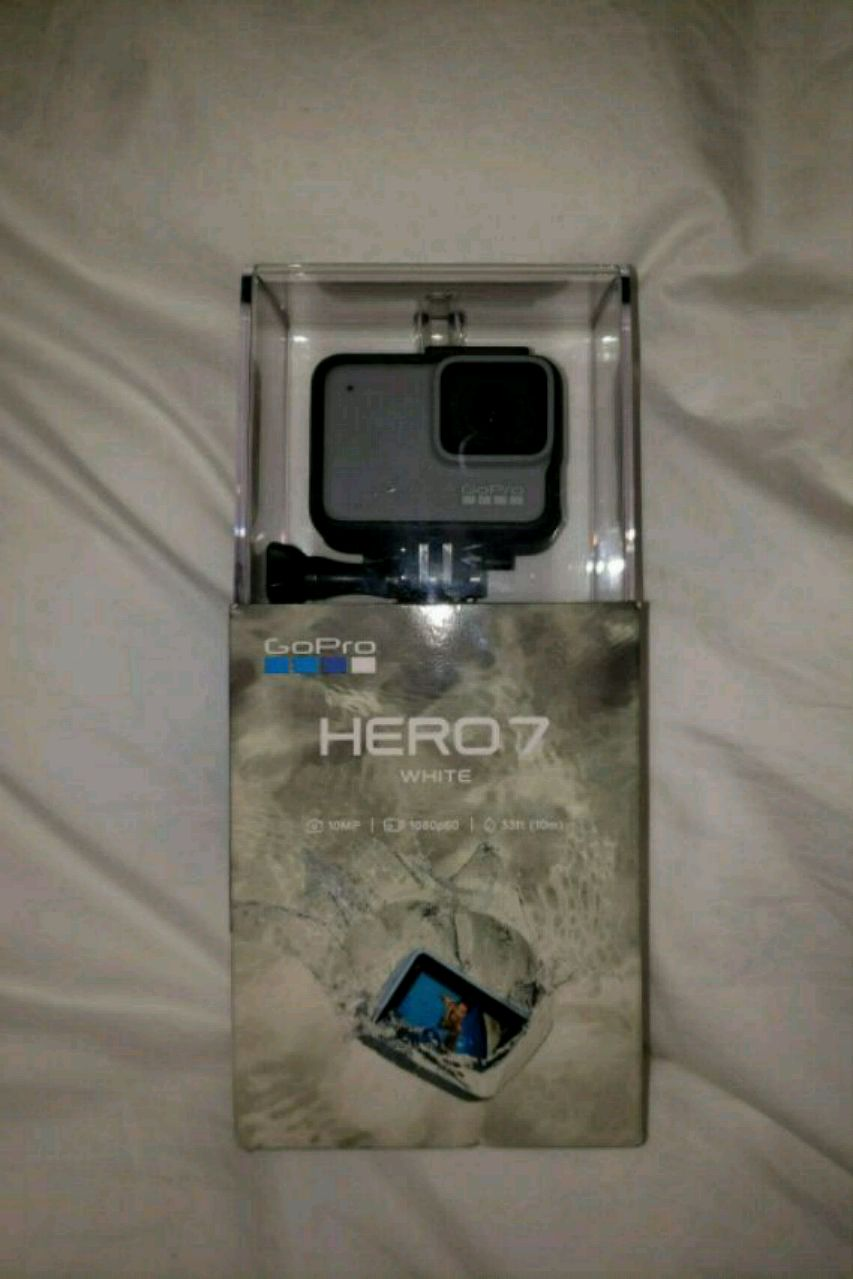black and gray GoPro HERO4 with box, used for sale  Mission Viejo