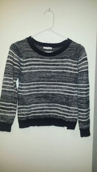 black and gray striped sweater McAllen, 78504