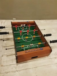 Green and black foosball table West Des Moines, 50265