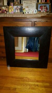 rectangular black wooden framed mirror Toronto, M3H