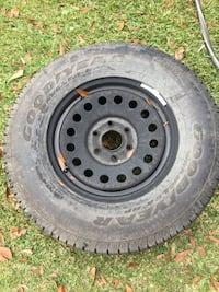 Brand new never used tire and rim