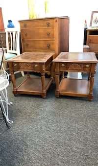 Pair of End Tables Port Richey, 34668