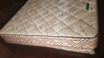 quilted bamboo bed mattress (NEW)