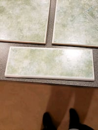 Tuscany Green Floor Tiles. 138, 66 and 7 Count.