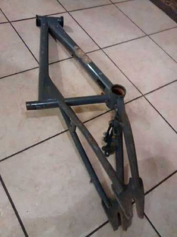 Used RARE Gray 1999 Dyno XR Bmx Bike Frame for sale in Lorain - letgo