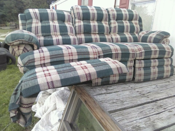 Prime Blue White And Red Plaid Fabric Sofa Gamerscity Chair Design For Home Gamerscityorg