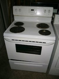 Frigidaire electric stove $80 if you pick up a 100 if delivered