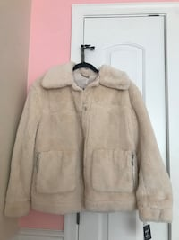 Macy's Cream Colored Fur Jacket Germantown, 20874