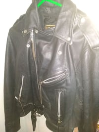 Hudson's ginuine Leather motorcycle style jacket Dallas, 75231