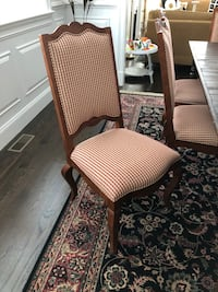 Century upholstered ladder back dining chairs Wayland, 01778