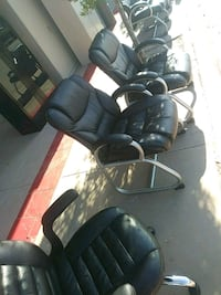 black and gray office chairs $15 each  El Paso, 79907