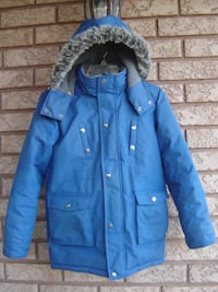 SIZE 12 BOYS OSHKOSH WINTER JACKET WITH HOODIE ONLY USED 3 MONTHS LAST WINTER & STILL LOOKS NEW OVERALL! Mississauga
