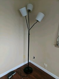 black and white torchiere lamp Kaneohe, 96744