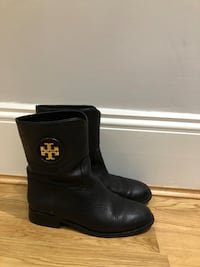 Tory Burch black leather boots  London, SW5 0PD
