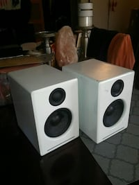 white and black home theater system Surrey, V3T 5W2