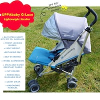 Uppababy g-luxe lightweight stroller Mississauga, L5L