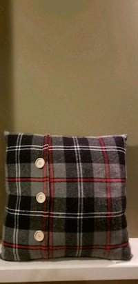 black, white, and red plaid textile Red Deer, T4R 0G1