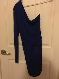 One sleeve blue cocktail dress Fort Washington, 20744