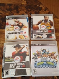 Ps3 games. $10 for all. Harriman, 10926