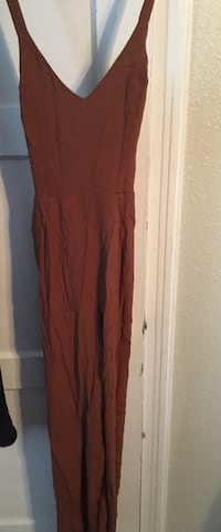 Brown jumpsuit New with tags  Abilene, 79601
