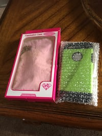 two green and pink iPhone cases Naperville, 60563