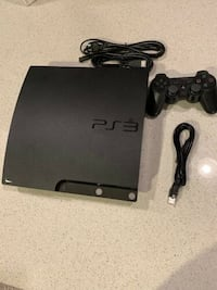 PS3 video game system