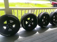 "Tires and 17"" rims 5x5 pattern Tampa, 33615"