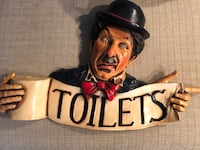 Toilet sign 3D Ladner, V4K 3K9