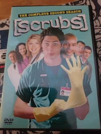 Scrubs hele andre sesong dvd